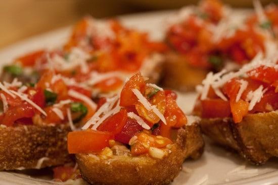 Итальянская брускетта рецепты с фото